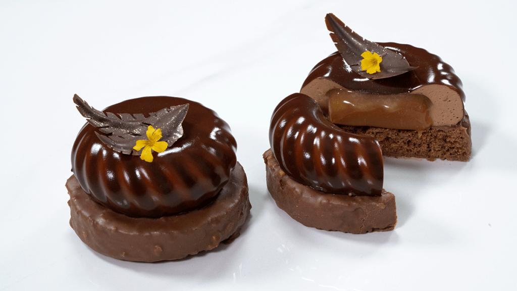 Tentación de Chocolate - Corte
