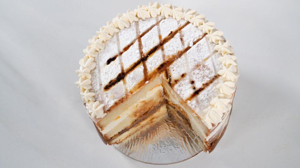 Torta Balcarce - Vista cenital corte